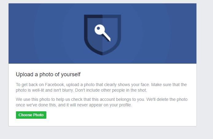 upload facebook picture